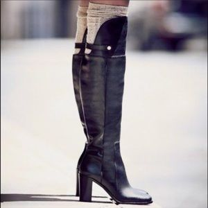 Louise Et Cie Navaria Leather Over the Knee Boots